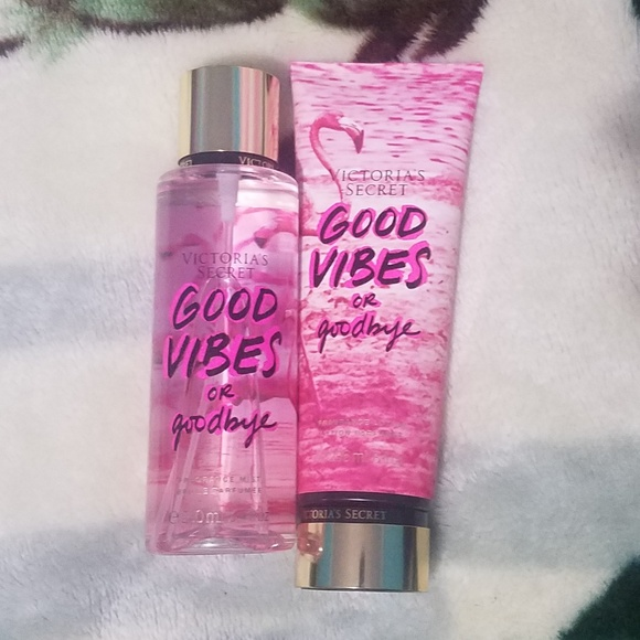 Victoria secret lotion and body spray set NWT